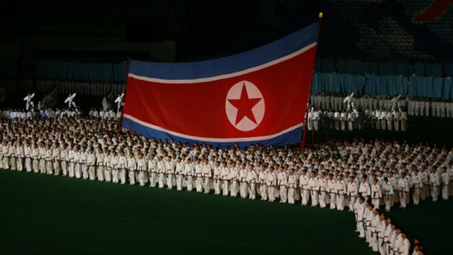 Korea-flag-and-people